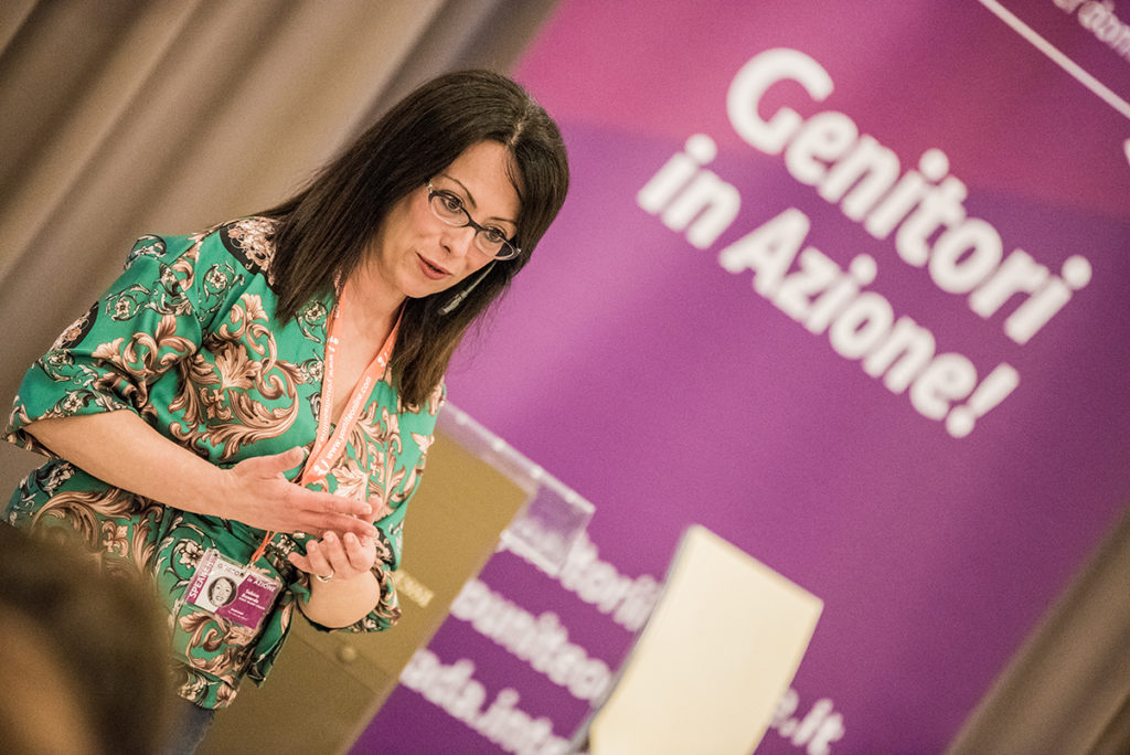 Sabina Bonardo a Genitori in Azione 2018